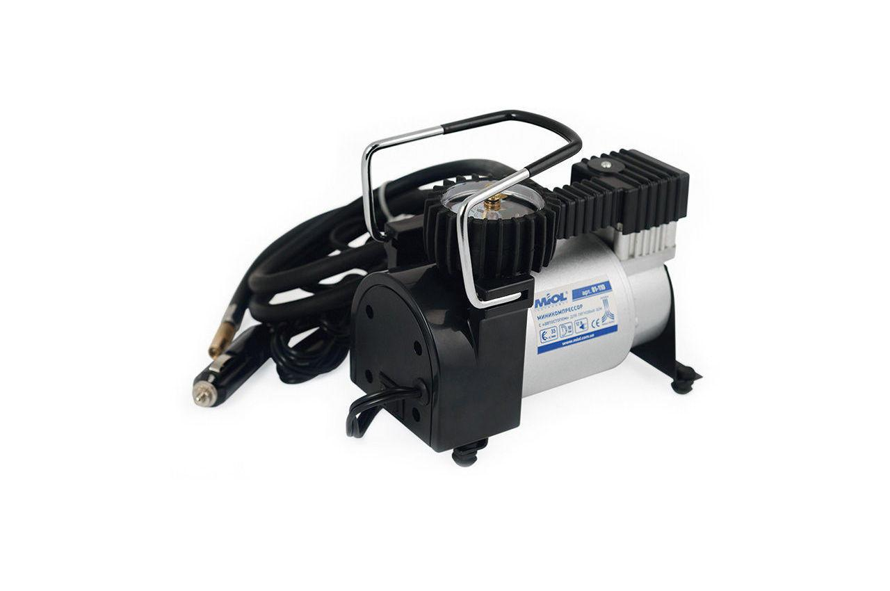 Миникомпрессор автомобильный Miol - 12 В, 10 bar, 35 л/мин 1 шт.
