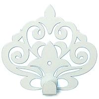 Настенный Крючок для одежды Glozis Ajur White