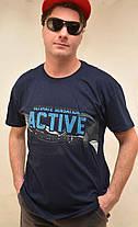 Футболка мужская с коротким рукавом Active M - XXL , фото 3