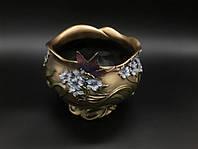 Конфетница, декоративная ваза Veronese Бабочка 10414A4