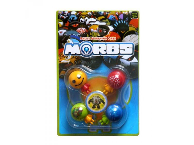 Гра Бойові Голови Morbs 18100 4 фігурки, на листі