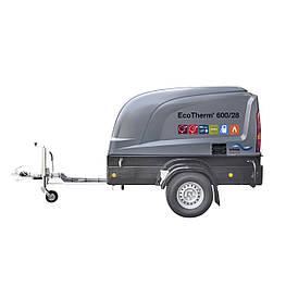 Передвижной насосный аппарат высокого давления EcoTherm 600 с горячей водой WOMA