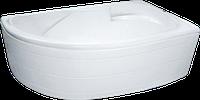 Ванна акриловая  угловая асимметричная KO&PO 4038 (1500 х 1000 х 550мм) левая/правая с ножками