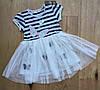 Летнее платье для девочек от 92 до 116 см рост