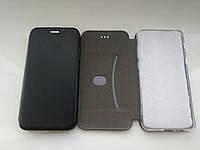 Чехол- книга Premium для Xiaomi MI 8 Lite  (черный), фото 1