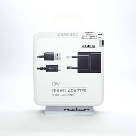 З/у сетевое Samsung EP-TA12EBEUGRU 2A microUSB black, фото 2