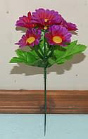 С-387 Ромашка цветная 6 голов 22х4 см, фото 1