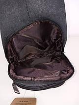 Мужской текстильный рюкзак слинг 31*18*10 см, фото 3