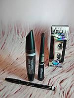 Набор МАС False Lash Effect Тушь+ подводка + карандаш (3 в 1)