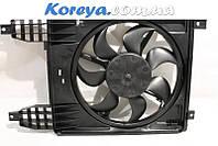 Вентилятор радиатора Авео (после 2009 гв) в сб. с диффуз.(с кондиц.) GM