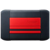 HDD накопитель Apacer AC633 2TB (AP2TBAC633R-1) USB 3.1 Red