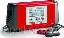 Зарядное устройство TELWIN Doctor Charge 50 6 / 12 / 24 В, 45 А с функцией тест аккумулятора и и генератора