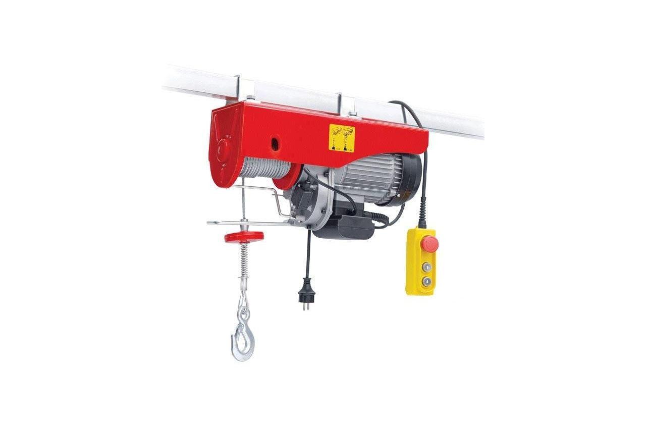 Тельфер (лебедка электрическая) Intertool - 500/999 кг x 6/12 м 1 шт.