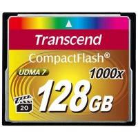 Карта памяти Transcend Compact Flash 128GB 1000x (TS128GCF1000)