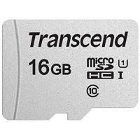 Карта памяти Transcend microSDHC 16GB UHS-I U1 (TS16GUSD300S)