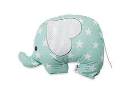 Декоративная подушка Слоник звезда на мяте 45*38