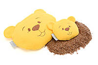 Подушка-грелка Мишка с семенами льна