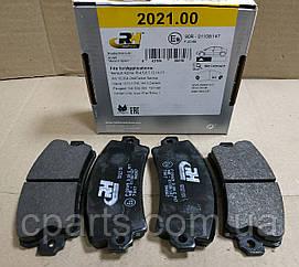 Колодки гальмівні передні Dacia Solenza (Road House RH 2021.00)(середня якість)