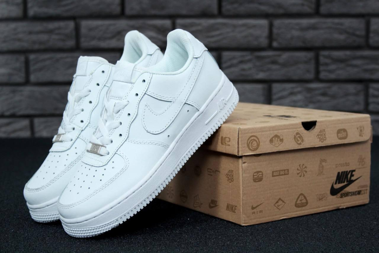 0a59f3f4 Кроссовки Nike Air Force 1 Low Женские Белые - Интернет магазин обуви  «im-РоLLi