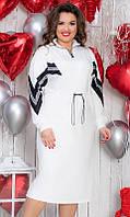 Платье женское большого размера 50-52 54-56  851016-2