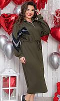 Платье женское большого размера 50-52 54-56 851016-3