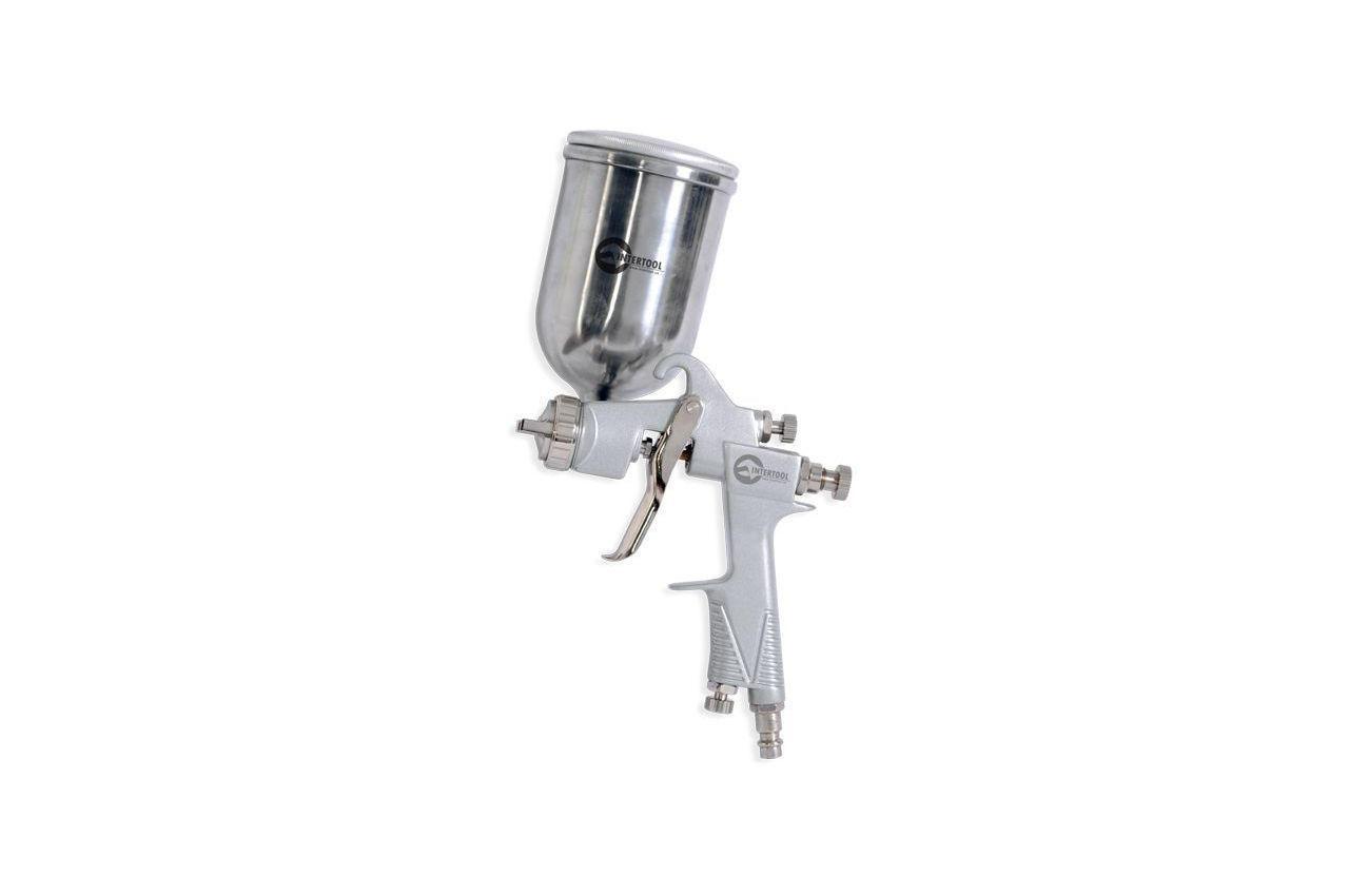 Пневмопистолет лакокрасочный HP Intertool - верхний бак 400 мл x 1,0 мм