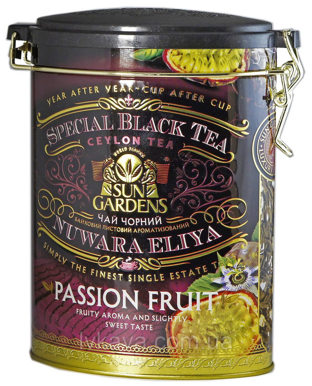 Чай черный Passion Fruit Sun Gardens ,ж\б, 100 гр