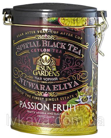 Чай черный Passion Fruit Sun Gardens ,ж\б, 100 гр, фото 2