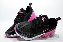 Женские кроссовки в стиле Nike Air Max 270, Black\White\Pink, фото 3
