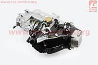 Двигатель для квадроцикла (вариаторный) с редуктором задней передачи в сборе 185куб