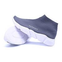 Серые кроссовки носки Balenciaca недорого, фото 1