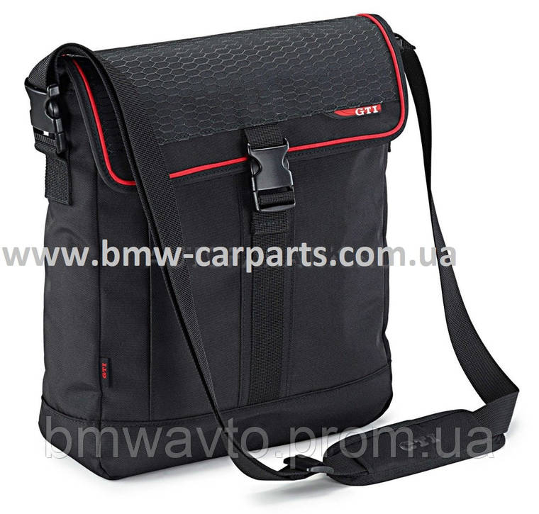 Наплечная сумка Volkswagen Shoulder Bag, GTI, Black, фото 2