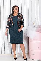 Шикарное женское платье,размеры:50,52,54,56., фото 1