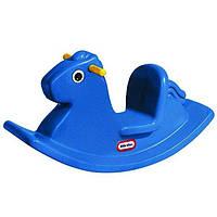 Качалка детская Лошадка синяя Little Tikes 4279