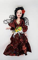 Кукла фарфоровая в Народном Костюме (DeAgostini) Цыганка