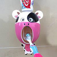 """Подвесной выдавливатель для зубной пасты детский """"Корова"""""""