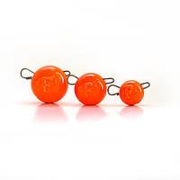 СВИНЕЦ Fanatik ЧЕБУРАШКА груз разборной цвет оранжевый-023 (5 шт в упаковке)