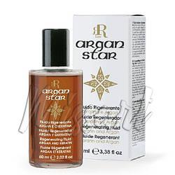 Регенерирующий флюид для волос с аргановым маслом и кератином Argan Star RR Line 60 мл
