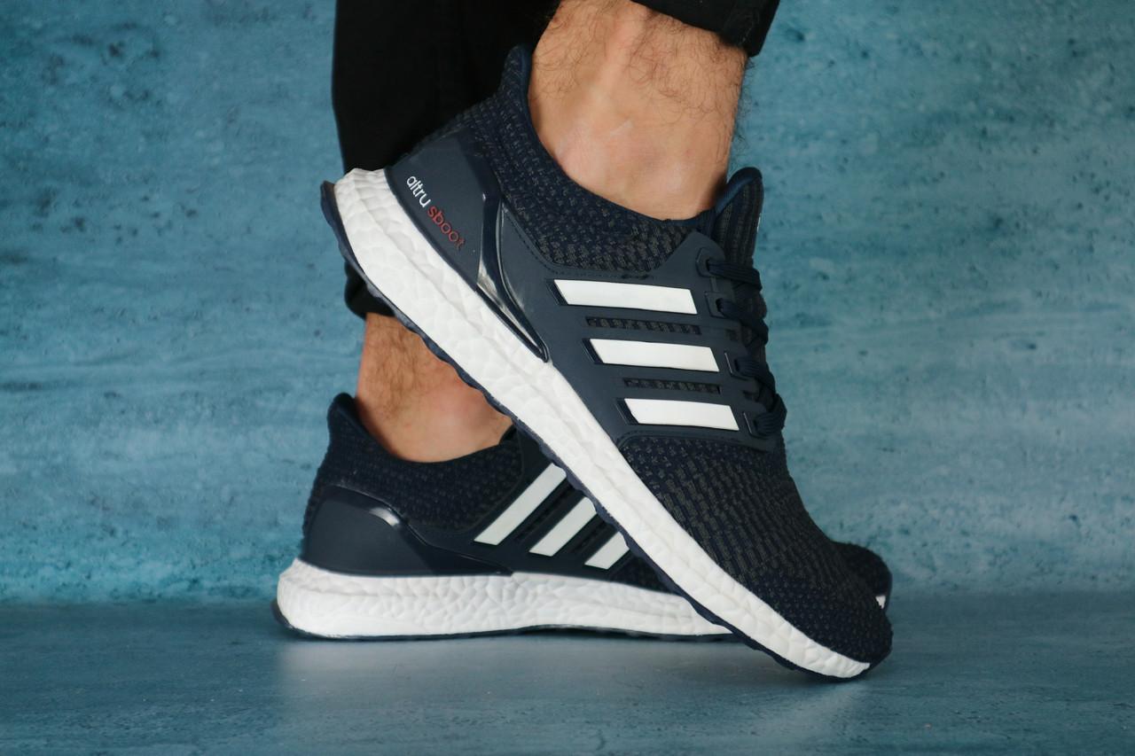 Кроссовки Classik А376 (Adidas Brand) (весна/осень, мужские, текстиль, синий)