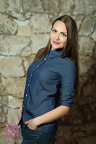 Женская джинсовая рубашка №70-071