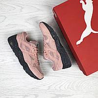 Puma Trinomic женские кроссовки розовые (Реплика ААА+), фото 1