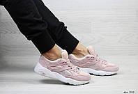 Puma Trinomic женские кроссовки розовые с белым (Реплика ААА+)