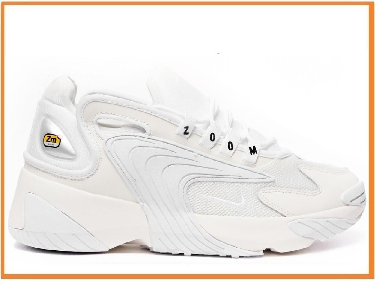 4263d4e4 Мужские Кроссовки Nike Zoom 2K White (найк Зум 2к, Белые) — в ...