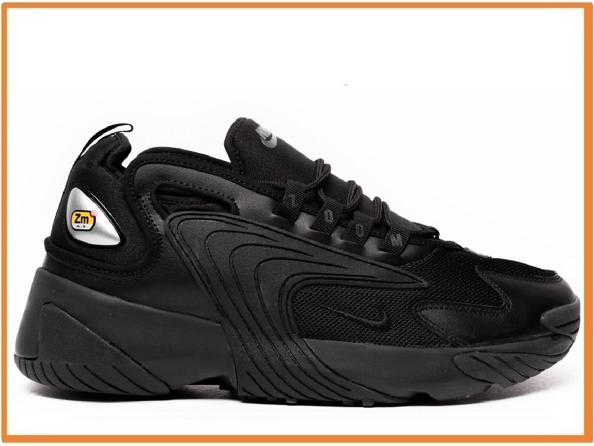 86b523a7 Мужские Кроссовки Nike Zoom 2K Black (найк Зум 2к, Черные) — в ...