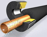 Изоляция для труб Ø60*19*2м EPDM KAIFLEX KAIMANN (высокотемпературный вспененный каучук).Теплоизоляция