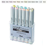 «COPIC» («Копик») маркеры серииCopic Sketch Набор ЕХ-4