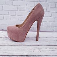 Туфли женские качественная реплика Лабутены Люкс в разных цветах эко кожа и замша код 621