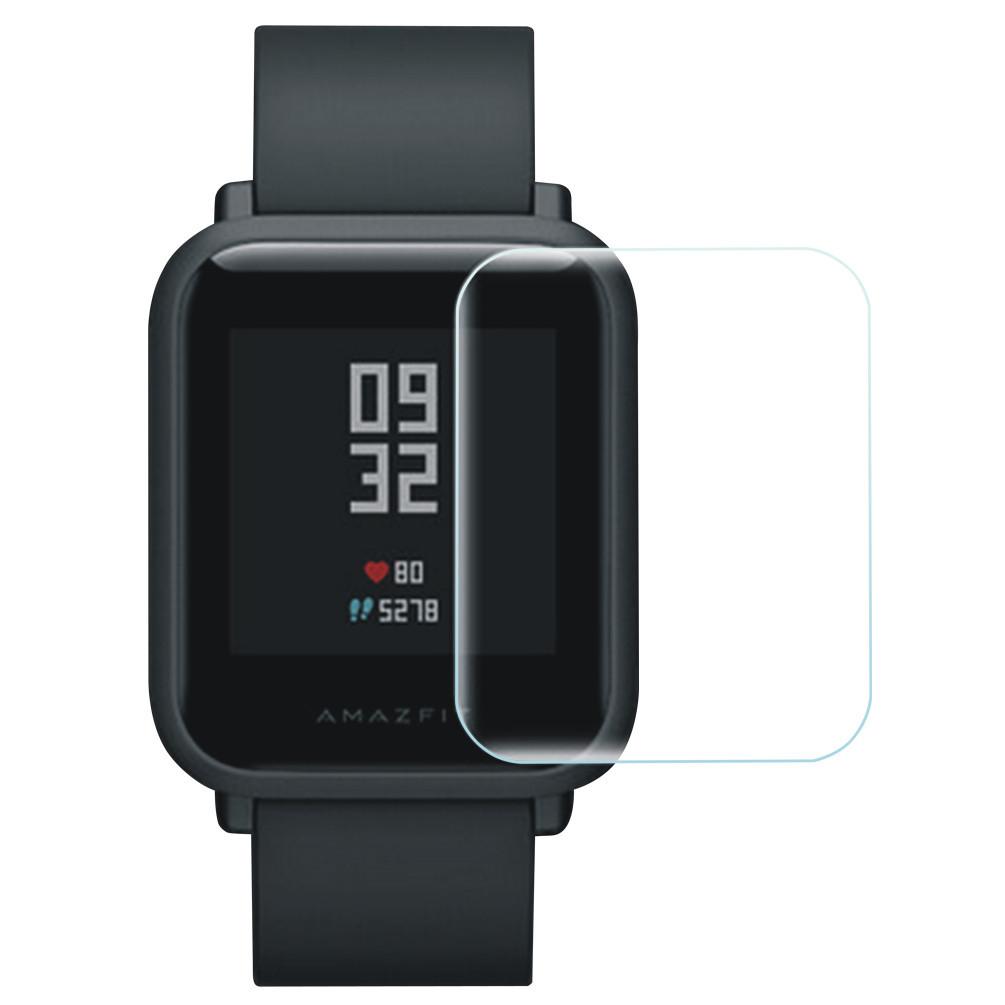 Защитная пленка для экрана смарт часов Amazfit Bip, комплект - 2 шт.