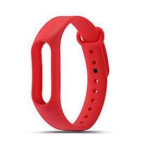 Ремешок TPU для фитнес-браслета Xiaomi Mi Band 2 Red
