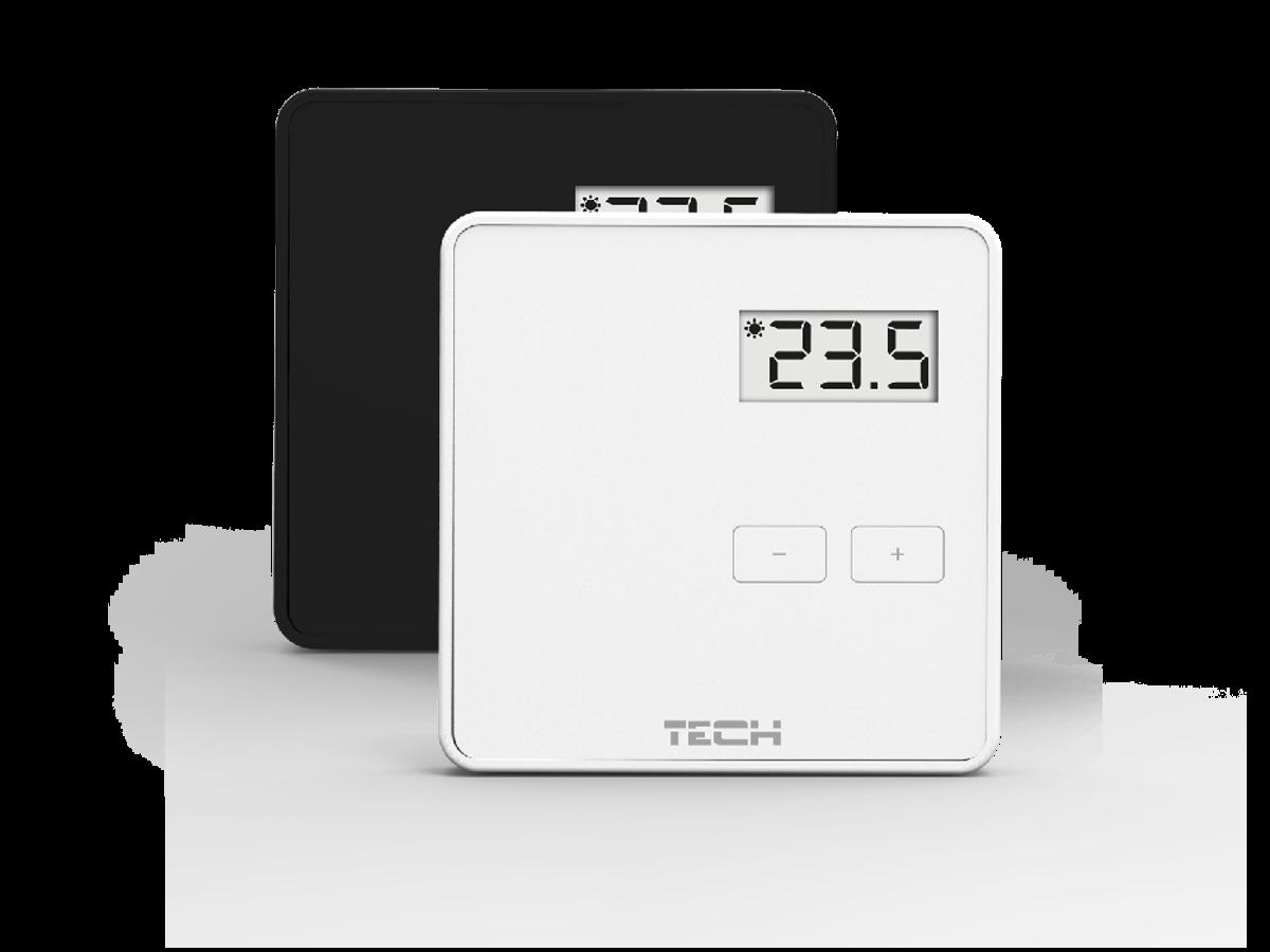 Проводной комнатный терморегулятор двухпозиционный TECH ST-294v1